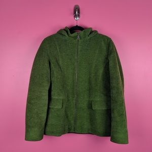 L.L. Bean Green Winter Jacket - Size XL